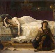 Pour faire phèdre résumé, on voit Phèdre empoisonnée et sa confidente Oenone morte à côté d'elle.