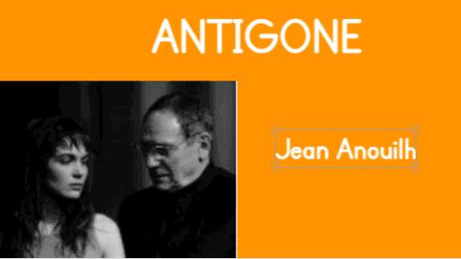 On voit Antigone de Jean Anouilh dont le texte intégral est disponible en pdf.