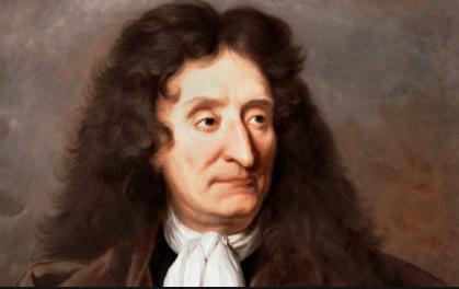 On voit La Fontaine biographie à partir du portrait le plus célèbre du fabuliste.